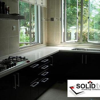 kitchen cabinet surface malaysia quartz stone surface